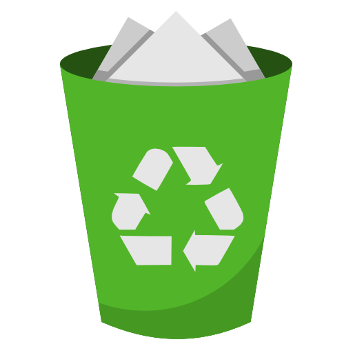 Recycling Bin Full Icon Iconshow