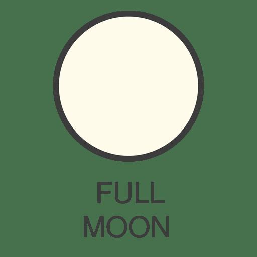 Moon Full Moon Icon