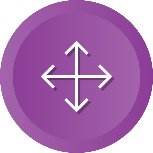 Arrows, Expand, Orientation, Crossroads, Direction, Full, Screen