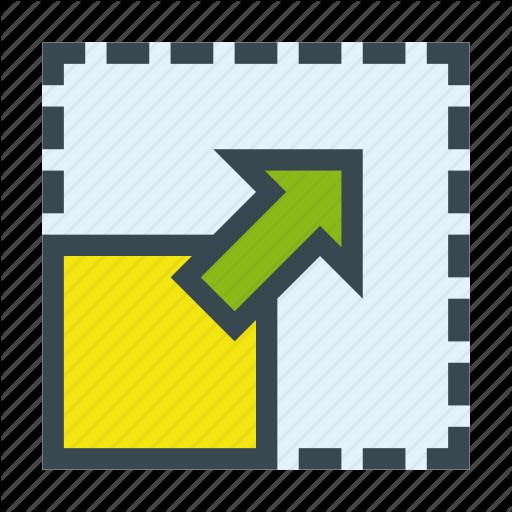 Full, Fullscreen, Maximize, Resize, Screen Icon