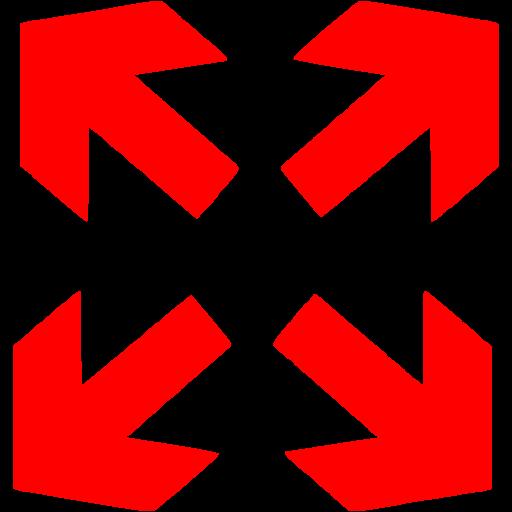 Red Fullscreen Icon