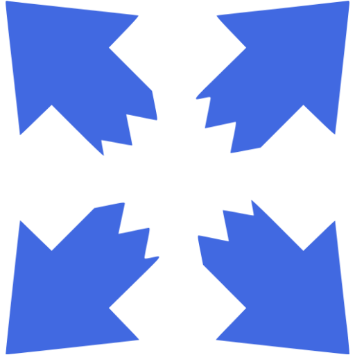 Royal Blue Fullscreen Icon