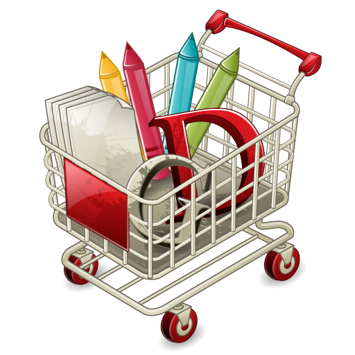 Full Shopping Cart Icon