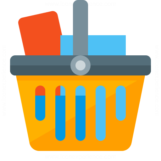 Iconexperience G Collection Shopping Basket Full Icon