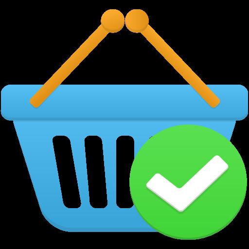 Shopping Basket Accept Icon Flatastic Iconset Custom Icon