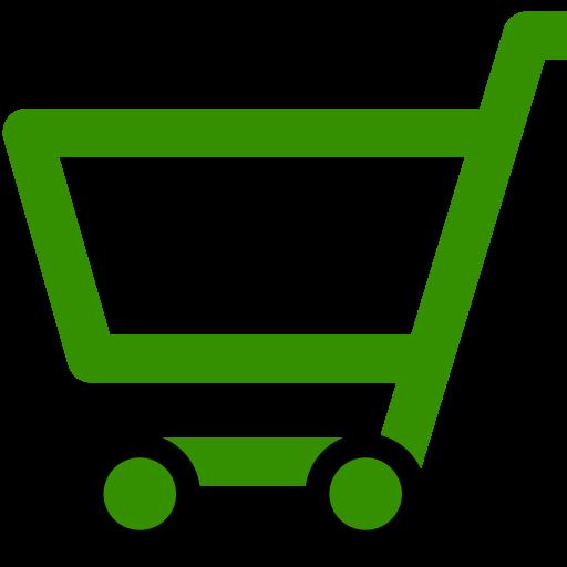 Cropped Green Shopping Cart Icon Official Sage Sa Shop