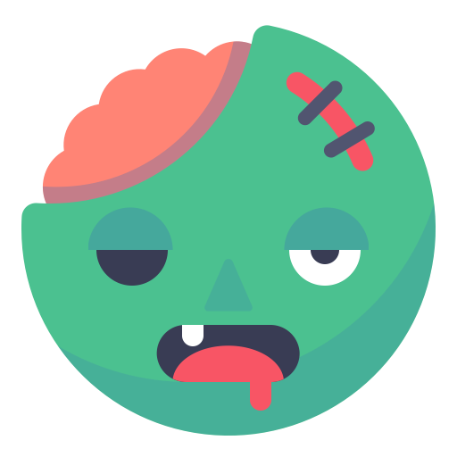 Emo, Dead, Injured, Zombie Icon Free Of Smileys For Fun Icons
