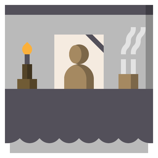 Altar, And, Architecture, Burial, City, Cultures, Funeral Icon