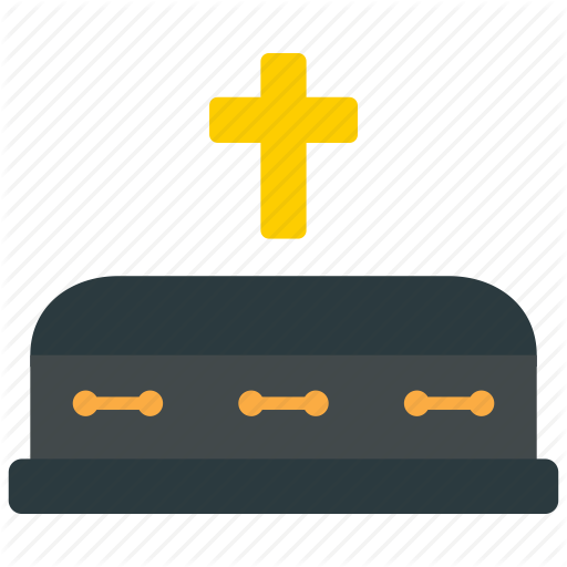 Casket, Coffin, Funeral Icon