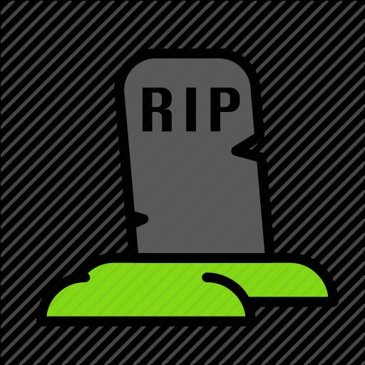 Dead, Death, Funeral, Halloween, Rip Icon