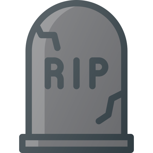Grave, Tomb, Funeral, Dead, Death, Halloween, Graveyard Icon