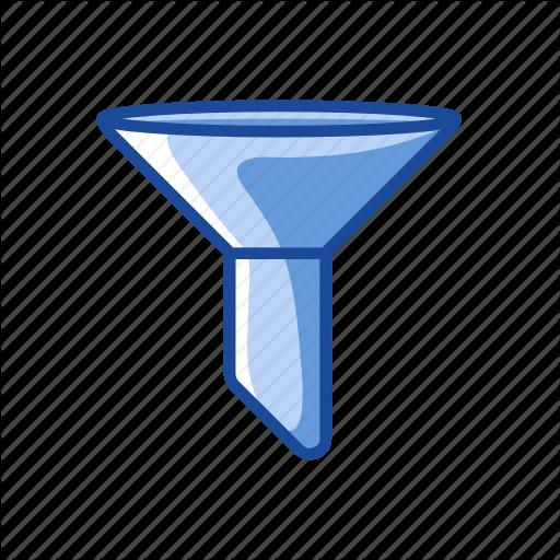 Filter, Funnel, Liquid Filter, Sales Funnel Icon