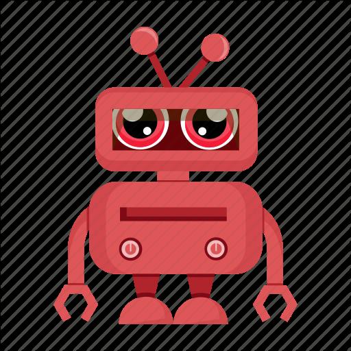 Avatar, Cartoon, Funny, Robot, Robotic Icon
