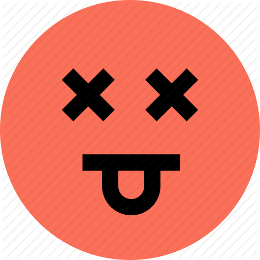 Avatar, Dead, Emoji, Emotion, Faces, Funny Icon