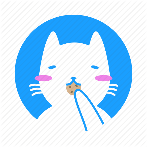 Animal, Cat, Cookie, Cute, Funny, Lazy Icon