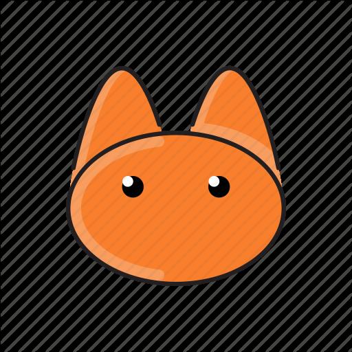 Animal, Cat, Cute, Funny, Head, Pet, Zoo Icon