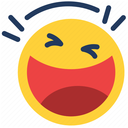 Emoji, Emoticon, Emotion, Face, Feeling, Funny, Laugh Icon