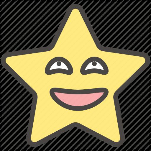 Emoji, Emotion, Eyes, Funny, Rolling, Star Icon