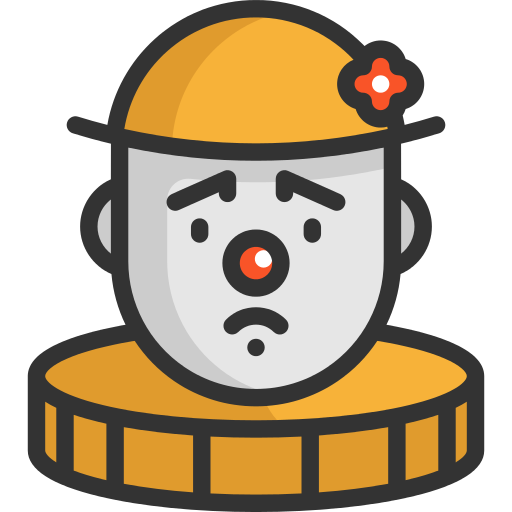 Clown Funny Png Icon