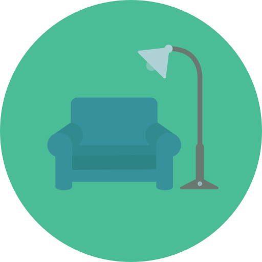 Furniture And Household Real Estate And Furniture Icon