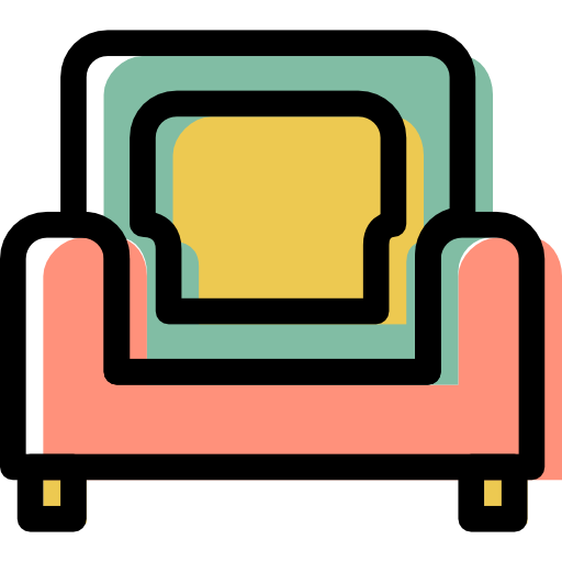 Armchair, Furniture Icon Free Of Color Furniture Icons