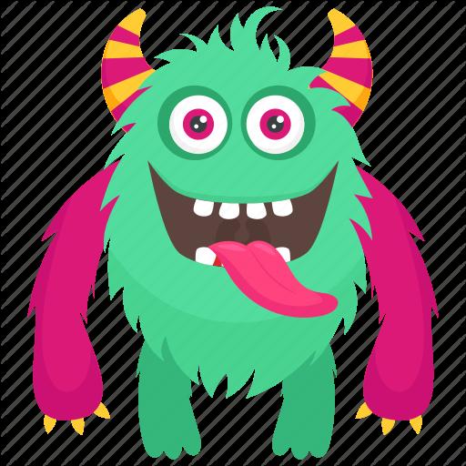 Alien, Devil Monster, Furry Character Monster, Furry Demon Monster