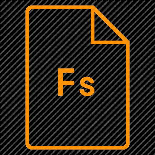 Adobe, Cc, Coloured, File, Fuse, Outline Icon