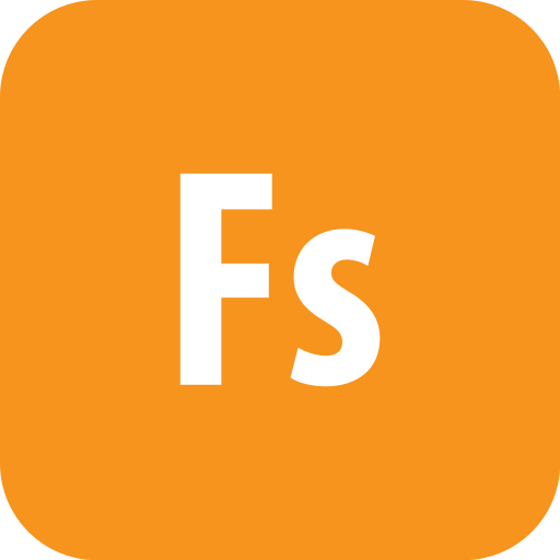 Adobe, Fuse, Rounded Icon