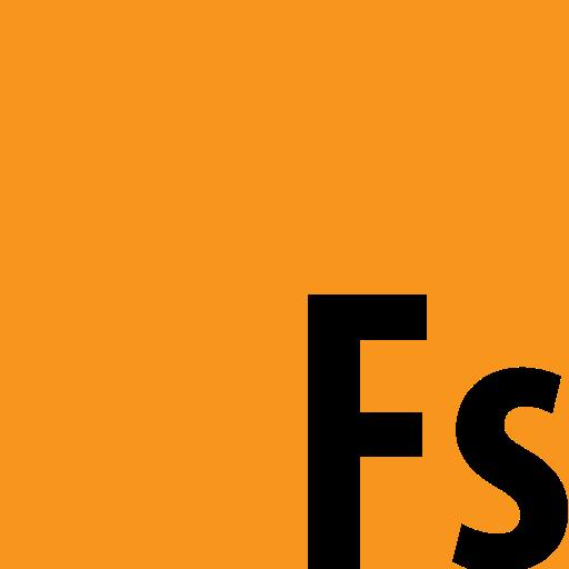 Adobe, Fuse, Square Icon