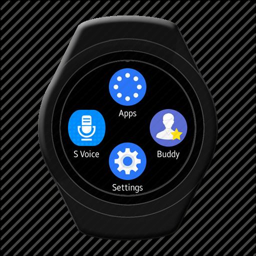 Android, Korea, Samsung, Smart, Watch Icon
