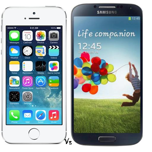 Apple Iphone Vs Samsung Galaxy