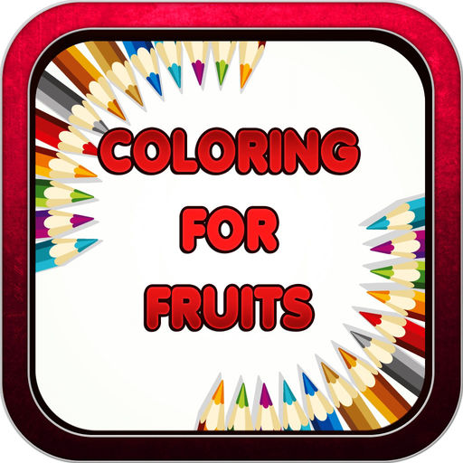 Color Book Game For Fruits Welcome To Coloring Shopville Pincel App