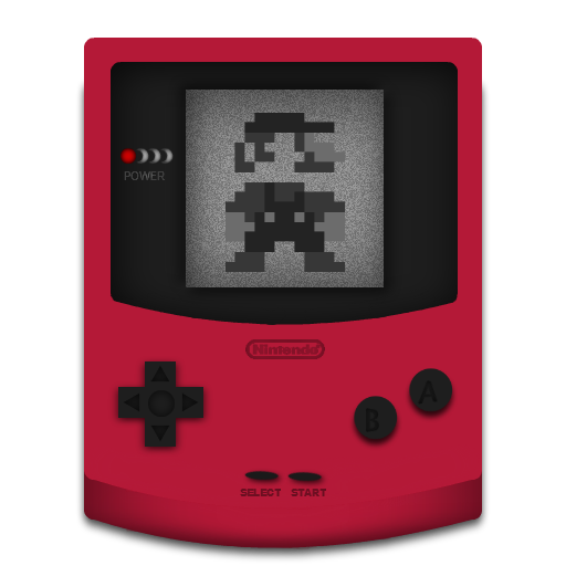 Gameboy Red Icon