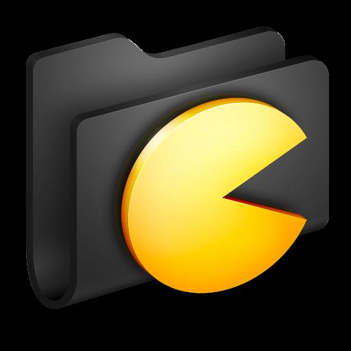 Cool Folder Icons Black Images