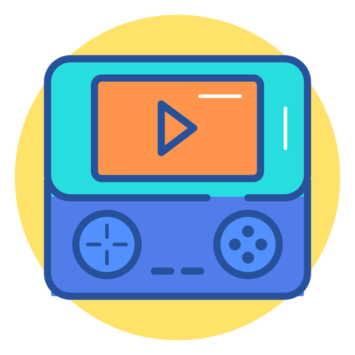Portable Game Console Icon