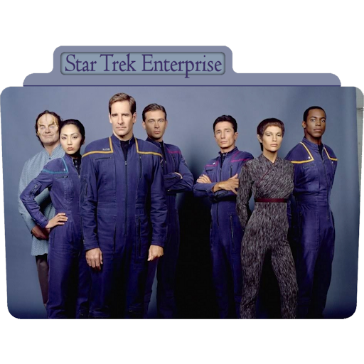 Star Trek Enterprise Icon Tv Movie Folder Iconset Aaron Sinuhe