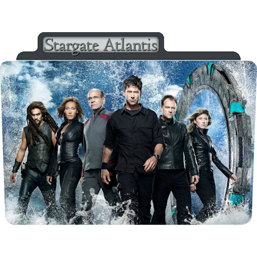 Stargate Atlantis Icon Tv Movie Folder Iconset Aaron Sinuhe