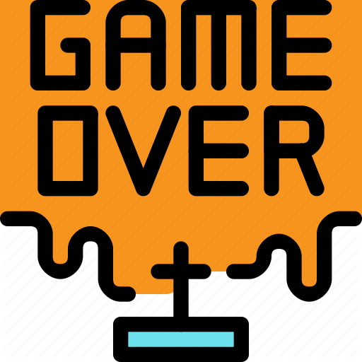 Console, Death, Game, Game Over, Video Icon