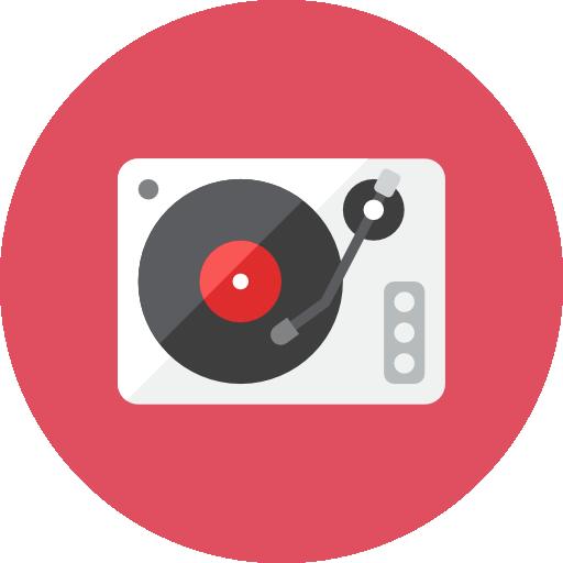 Record Player Icon Kameleon Iconset Webalys