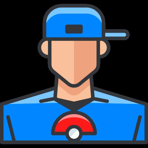 Video Game, Player, Pokemon, Gaming, User, Boy, Avatar, Nintendo Icon
