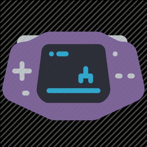 Advance, Gameboy, Handheld, Nintendo, Portable, Retro, Tech Icon