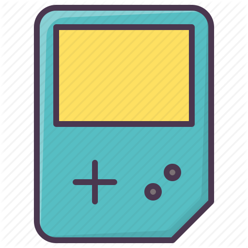 Gameboy, Game, Video Game, Entertainment, Game Device Icon
