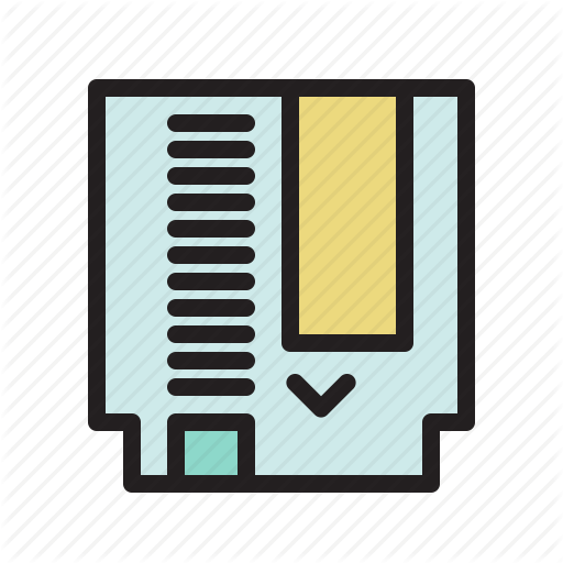 Cartridge, Colored, Game, Gameboy, Games, Retro Icon
