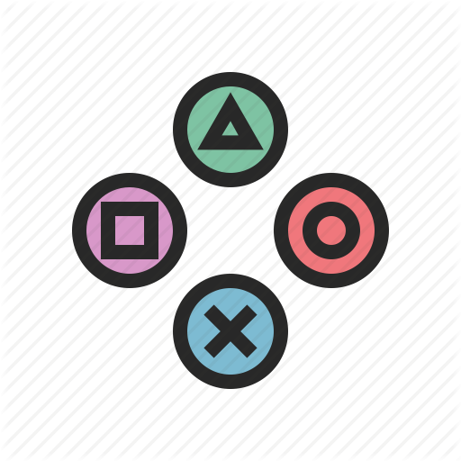 Buttons, Controller, Game, Gamepad, Gamer, Play, Ps Icon