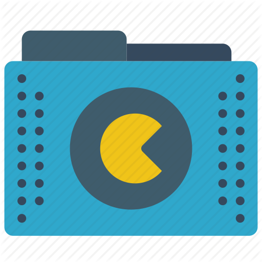 S, Folder, Folders, Games, Pacman, Roms Icon