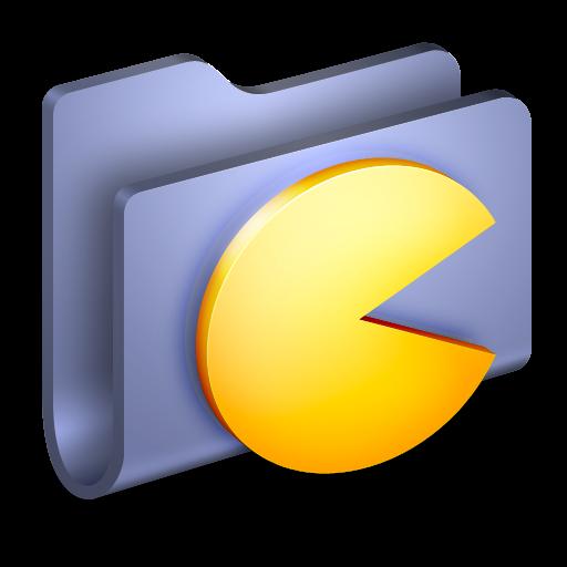Games, Folder Icon Free Of Alumin Folders Icons