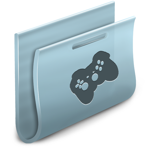 Games Folder Icon Free Search Download As Png