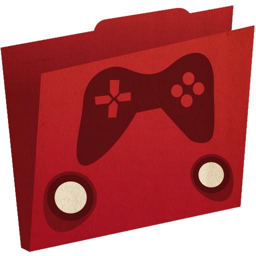Games Folder Icon Artcore Iconset Artcore Illustrations