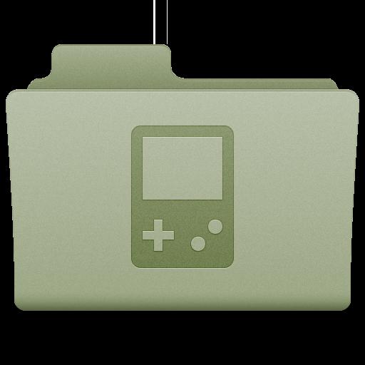 Green Games Folder Icon