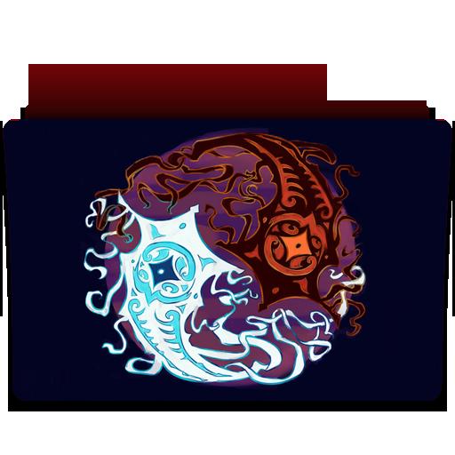 The Legend Of Korra Book Spirits Folder Icon By, Folder Icon